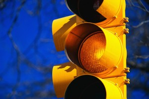 Yellow Signal Light