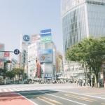 渋谷の宮益坂